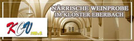 Närrische Weinprobe im Kloster-Eberbach 2017