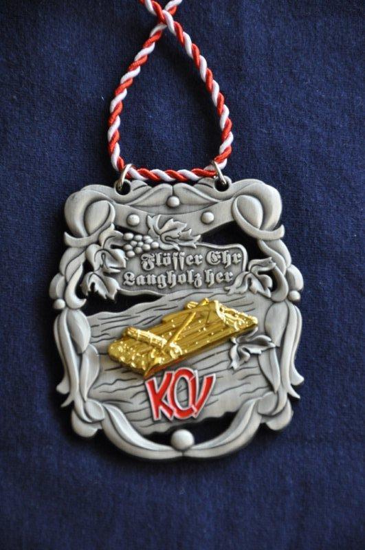 Flößer-Orden zum 25jährigen Flößersitzungs-Jubiläum 2014