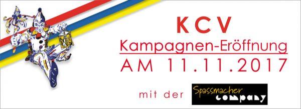 Doppelkarte für zwei Personen! KCV Kampagneneröffnung am 11.11.2017