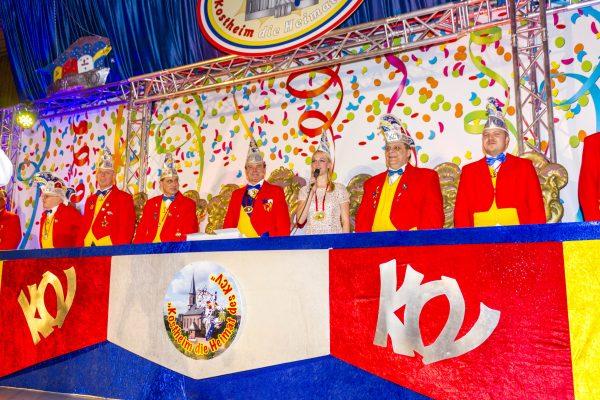 Stephanie Kopietz im Komitee des Kostheimer Carneval Vereins